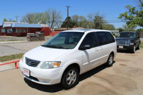 2000 Mazda MPV for sale at KD Motors in Lubbock TX