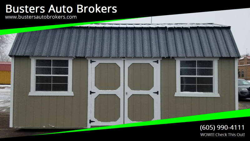 2020 Old Hickory Building 10 X 20 Side Lofted Barn for sale at Busters Auto Brokers in Mitchell SD
