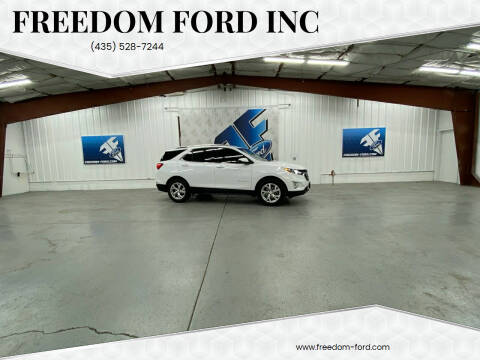 2018 Chevrolet Equinox for sale at Freedom Ford Inc in Gunnison UT