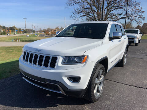 2015 Jeep Grand Cherokee for sale at Blake Hollenbeck Auto Sales in Greenville MI