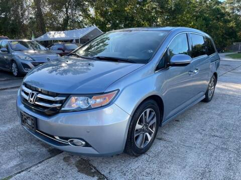 2014 Honda Odyssey for sale at AUTO WOODLANDS in Magnolia TX
