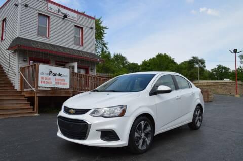 2018 Chevrolet Sonic for sale at DrivePanda.com Joliet in Joliet IL