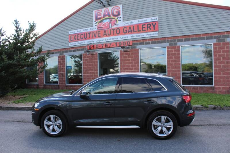 2019 Audi Q5 for sale at EXECUTIVE AUTO GALLERY INC in Walnutport PA