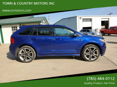 2013 Ford Edge for sale at TOWN & COUNTRY MOTORS INC in Meriden KS