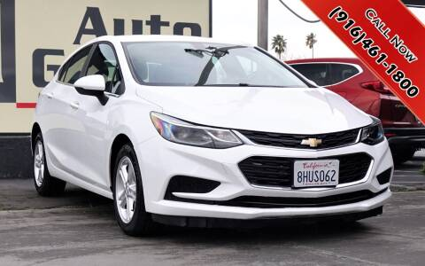 2018 Chevrolet Cruze for sale at H1 Auto Group in Sacramento CA