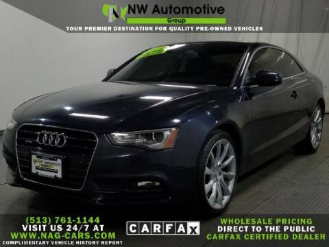 2014 Audi A5 for sale at NW Automotive Group in Cincinnati OH