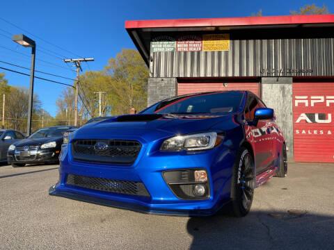 2017 Subaru WRX for sale at Apple Auto Sales Inc in Camillus NY