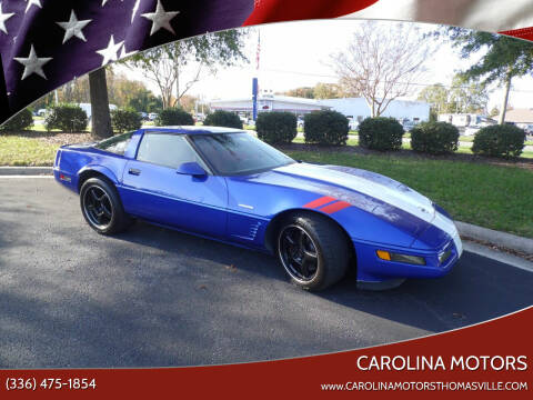 1996 Chevrolet Corvette for sale at CAROLINA MOTORS in Thomasville NC