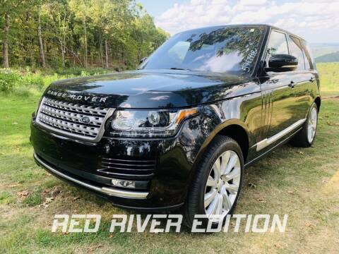 2017 Land Rover Range Rover for sale at RED RIVER DODGE - Red River of Malvern in Malvern AR