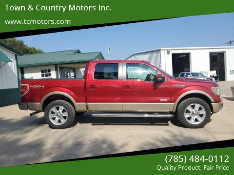2013 Ford F-150 for sale at Town & Country Motors Inc. in Meriden KS