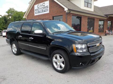 2010 Chevrolet Suburban for sale at C & C MOTORS in Chattanooga TN