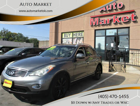 2012 Infiniti EX35 for sale at Auto Market in Oklahoma City OK