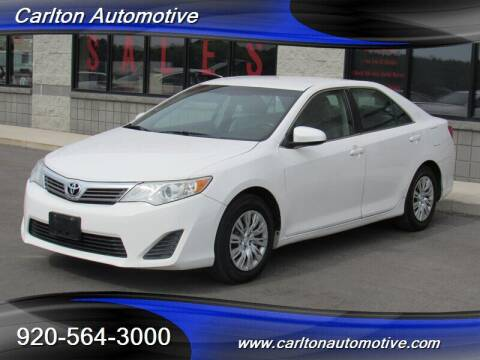 2013 Toyota Camry for sale at Carlton Automotive Inc in Oostburg WI