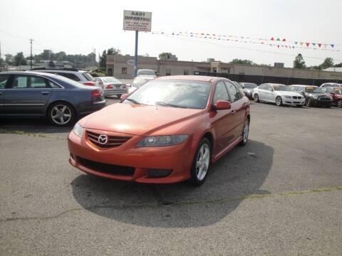 2005 Mazda MAZDA6 for sale at A&S 1 Imports LLC in Cincinnati OH