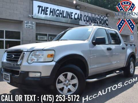 2010 Ford Explorer Sport Trac for sale at The Highline Car Connection in Waterbury CT