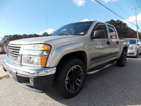 2006 GMC Canyon for sale at Deer Park Auto Sales Corp in Newport News VA