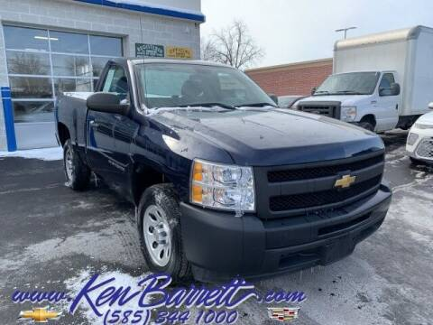 2012 Chevrolet Silverado 1500 for sale at KEN BARRETT CHEVROLET CADILLAC in Batavia NY