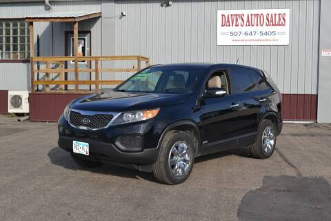 2011 Kia Sorento for sale at Dave's Auto Sales in Winthrop MN