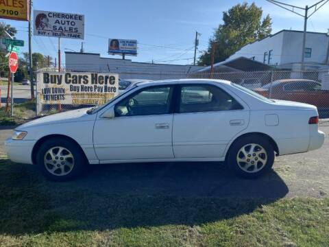 1998 Toyota Camry for sale at Cherokee Auto Sales in Knoxville TN
