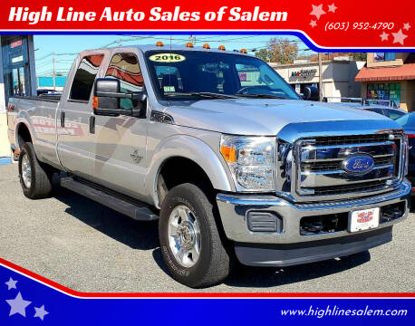 2016 Ford F-350 Super Duty for sale at High Line Auto Sales of Salem in Salem NH