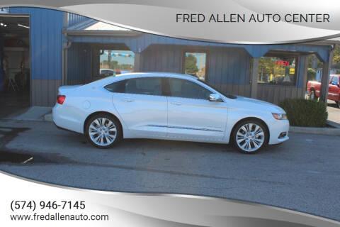 2019 Chevrolet Impala for sale at Fred Allen Auto Center in Winamac IN