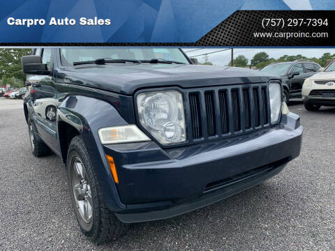 2008 Jeep Liberty for sale at Carpro Auto Sales in Chesapeake VA