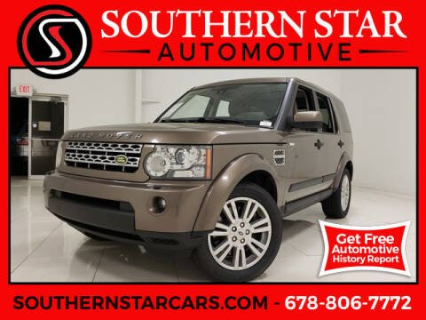 2010 Land Rover LR4 for sale at Southern Star Automotive, Inc. in Duluth GA