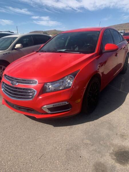 2016 Chevrolet Cruze Limited for sale at Poor Boyz Auto Sales in Kingman AZ