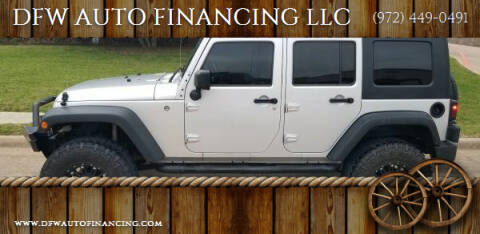 2008 Jeep Wrangler Unlimited for sale at Bad Credit Call Fadi in Dallas TX