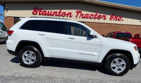 2014 Jeep Grand Cherokee for sale at STAUNTON TRACTOR INC in Staunton VA