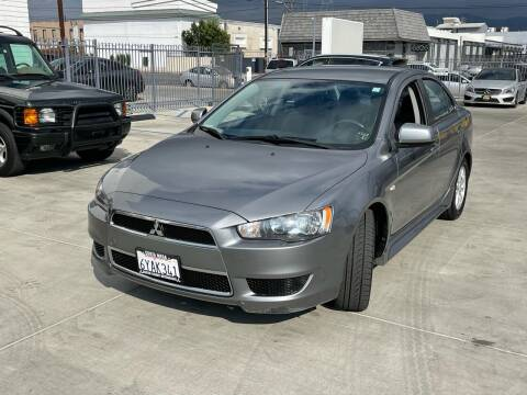 2012 Mitsubishi Lancer for sale at Galaxy of Cars in North Hollywood CA