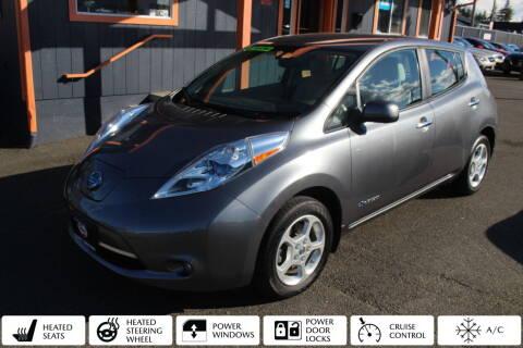 2015 Nissan LEAF for sale at Sabeti Motors in Tacoma WA