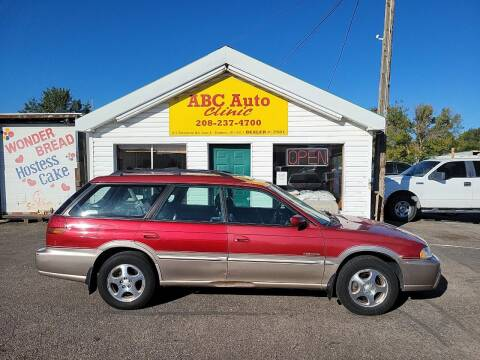 1998 Subaru Legacy for sale at ABC AUTO CLINIC CHUBBUCK in Chubbuck ID