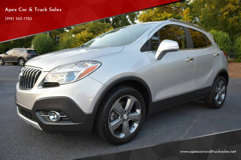 2014 Buick Encore for sale at Apex Car & Truck Sales in Apex NC