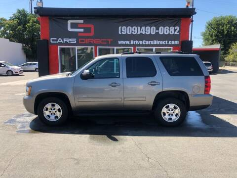 2012 Chevrolet Tahoe for sale at Cars Direct in Ontario CA