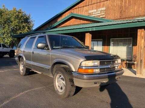 1999 Chevrolet Blazer for sale at Coeur Auto Sales in Hayden ID