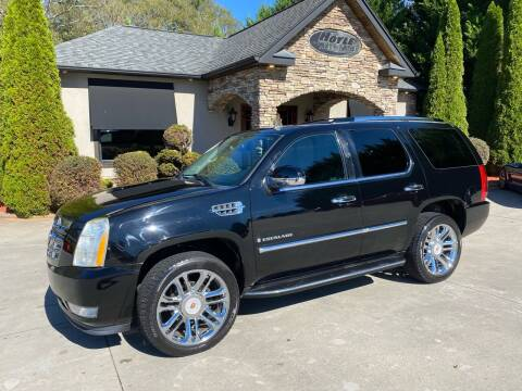 2007 Cadillac Escalade for sale at Hoyle Auto Sales in Taylorsville NC