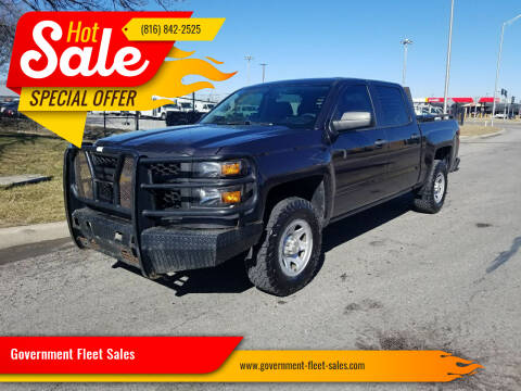 2014 Chevrolet Silverado 1500 for sale at Government Fleet Sales in Kansas City MO