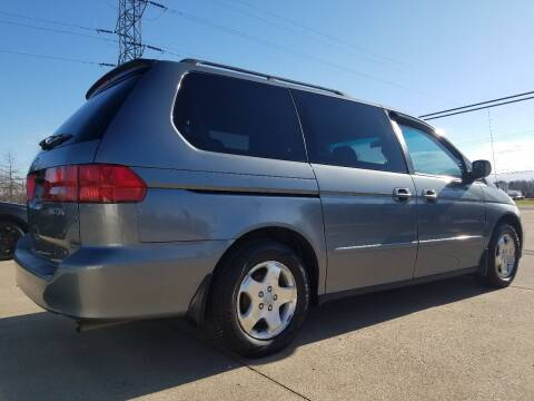 2001 Honda Odyssey for sale at CarNation Auto Group in Alliance OH