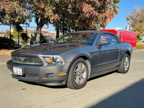 2011 Ford Mustang for sale at 707 Motors in Fairfield CA