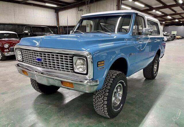1972 Chevrolet Blazer for sale in Carrollton, TX