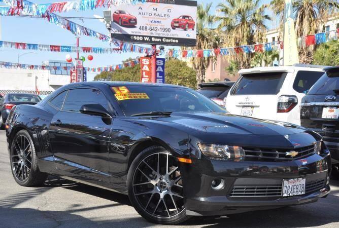 2015 Chevrolet Camaro for sale at AMC Auto Sales Inc in San Jose CA