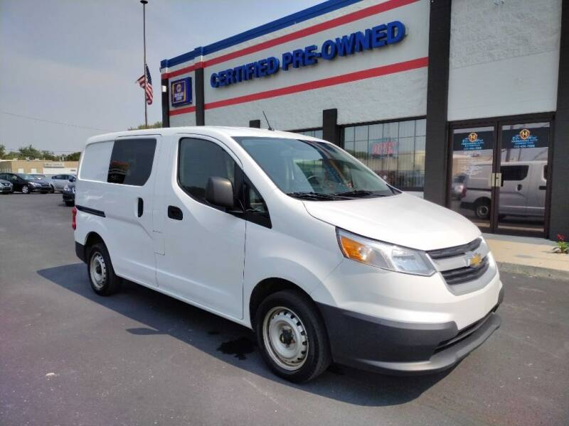 2016 Chevrolet City Express Cargo for sale at Ultimate Auto Deals DBA Hernandez Auto Connection in Fort Wayne IN