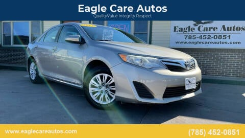 2014 Toyota Camry for sale at Eagle Care Autos in Mcpherson KS