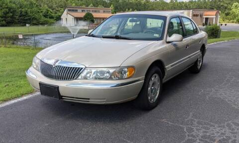 1999 Lincoln Continental for sale at Hal's Auto Sales in Suffolk VA