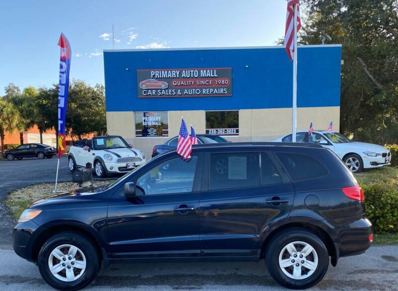 2009 Hyundai Santa Fe for sale at Primary Motors Inc - Primary Auto Mall in Fort Myers FL