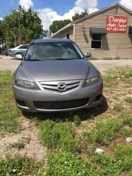 2007 Mazda MAZDA6 for sale at DAVINA AUTO SALES in Orlando FL