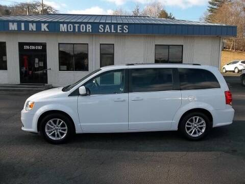 2019 Dodge Grand Caravan for sale at MINK MOTOR SALES INC in Galax VA