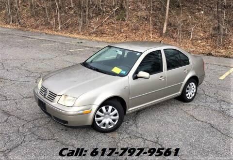 2004 Volkswagen Jetta for sale at Wheeler Dealer Inc. in Acton MA