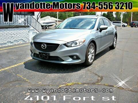 2014 Mazda MAZDA6 for sale at Wyandotte Motors in Wyandotte MI